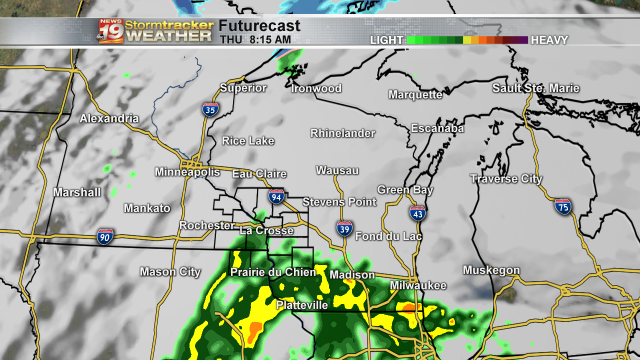 Futurecast Thursday Map