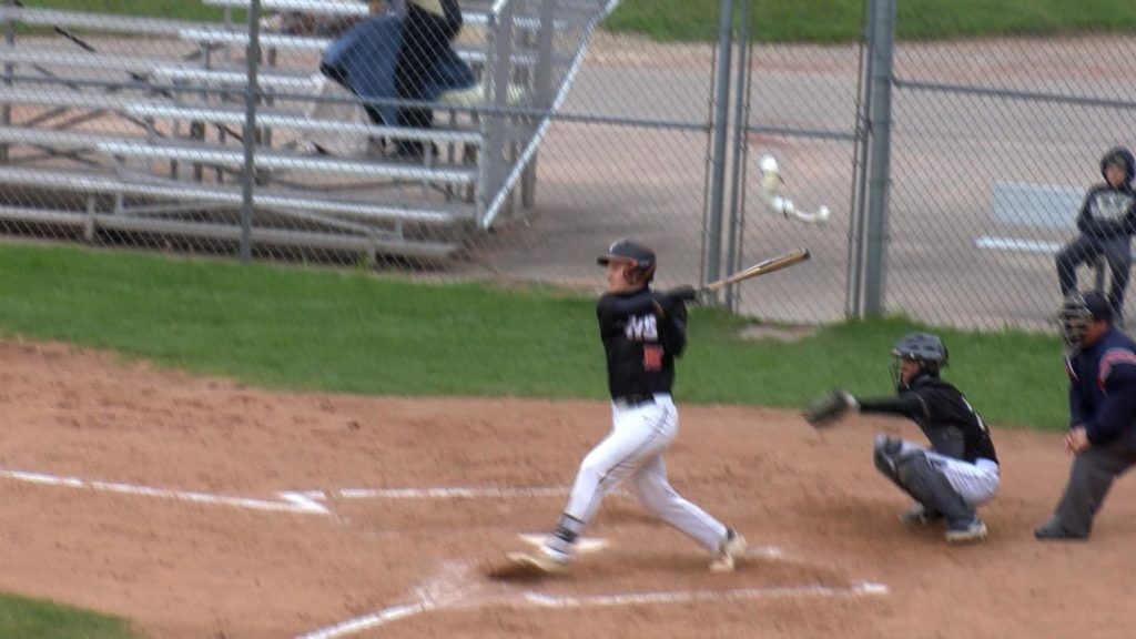 The Viroqua bats edge out the Caledonia pitching