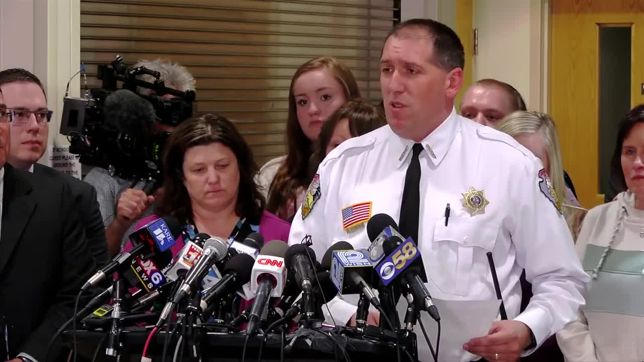 WATCH: Closs family, authorities thank community for support