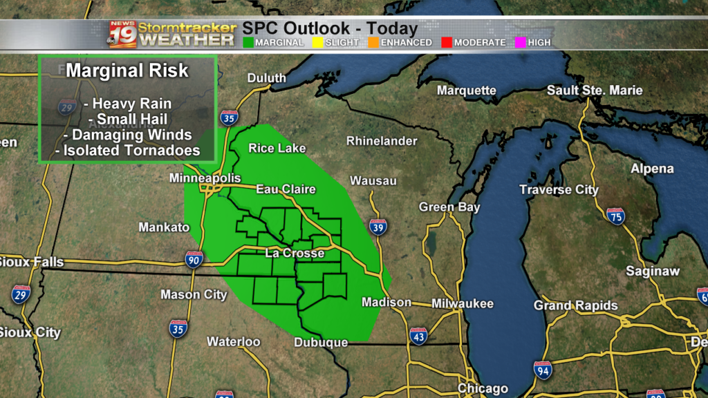 SPC Outlook Day 1