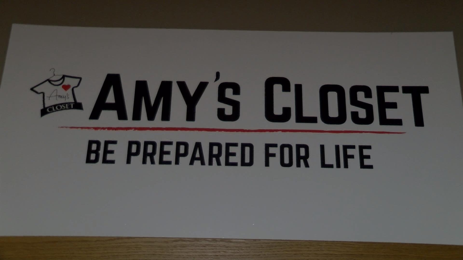 Providing help for those in need at Amy's Closet