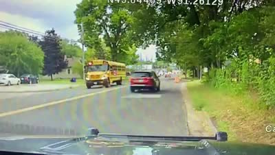 Campbell Police share frightening bus stop video