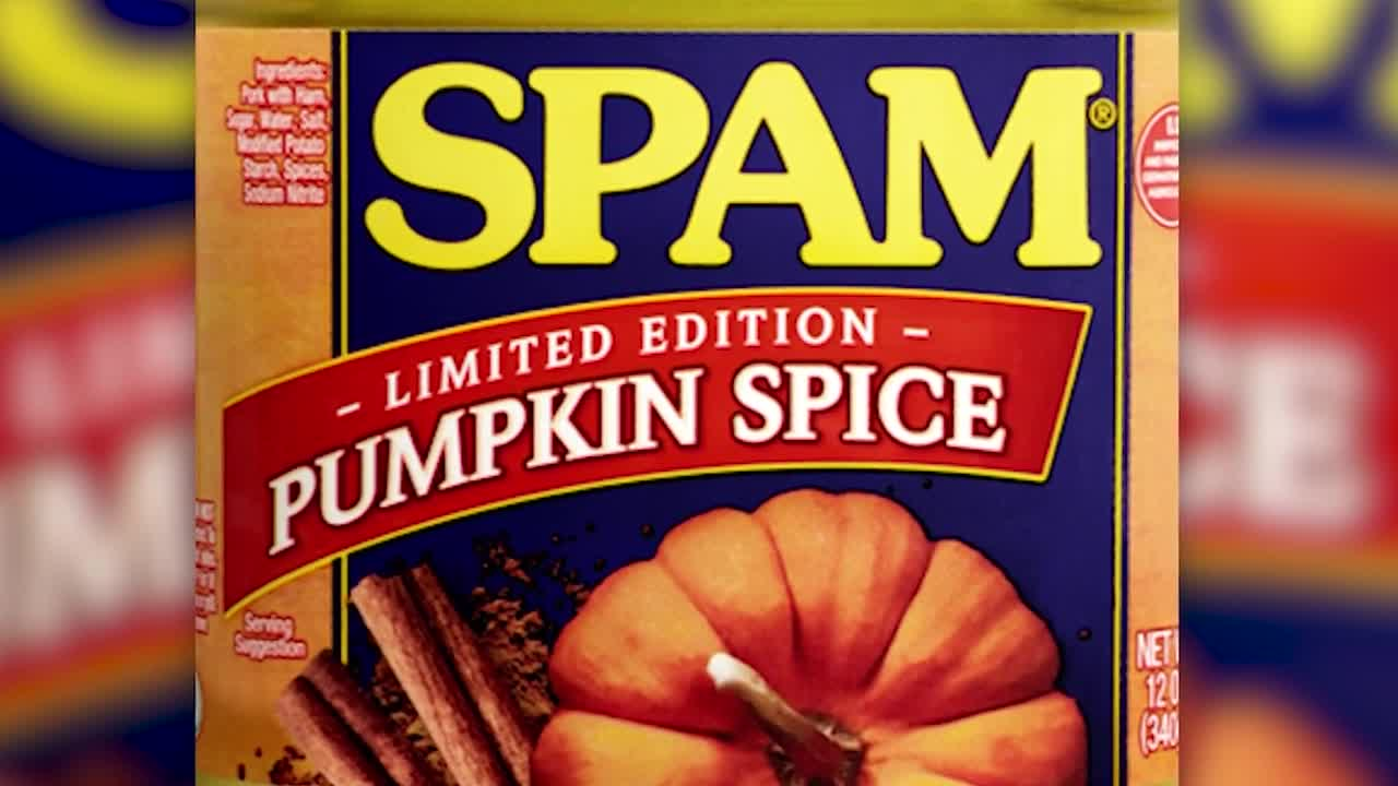 Tis' the fall season for a new Spam flavor