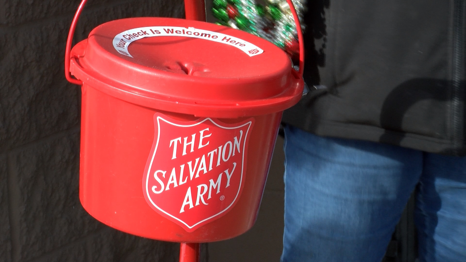 Salvation Army in Bangor holding toy drive