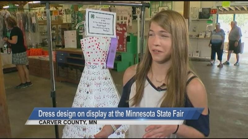 MUST SEE: A unique design at the Minnesota State Fair and woman rescued on rainbow unicorn float