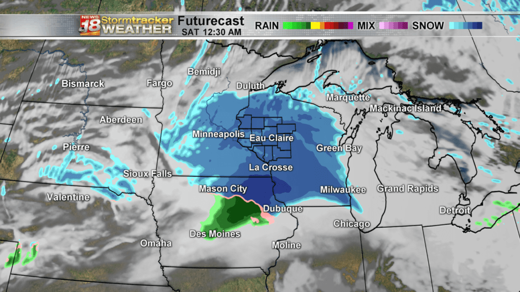 Weather Outlook: Dry today, then snow tonight with tricky travel…