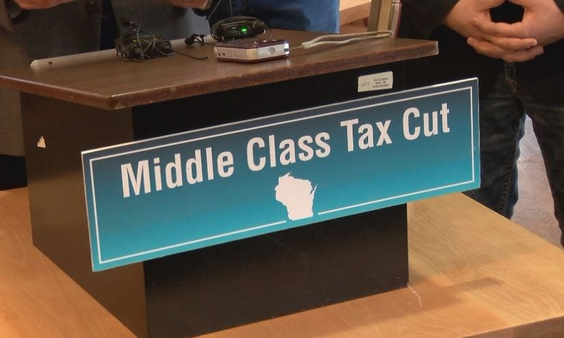 Local Republican lawmakers present plan to lower taxes for middle class Wisconsinites