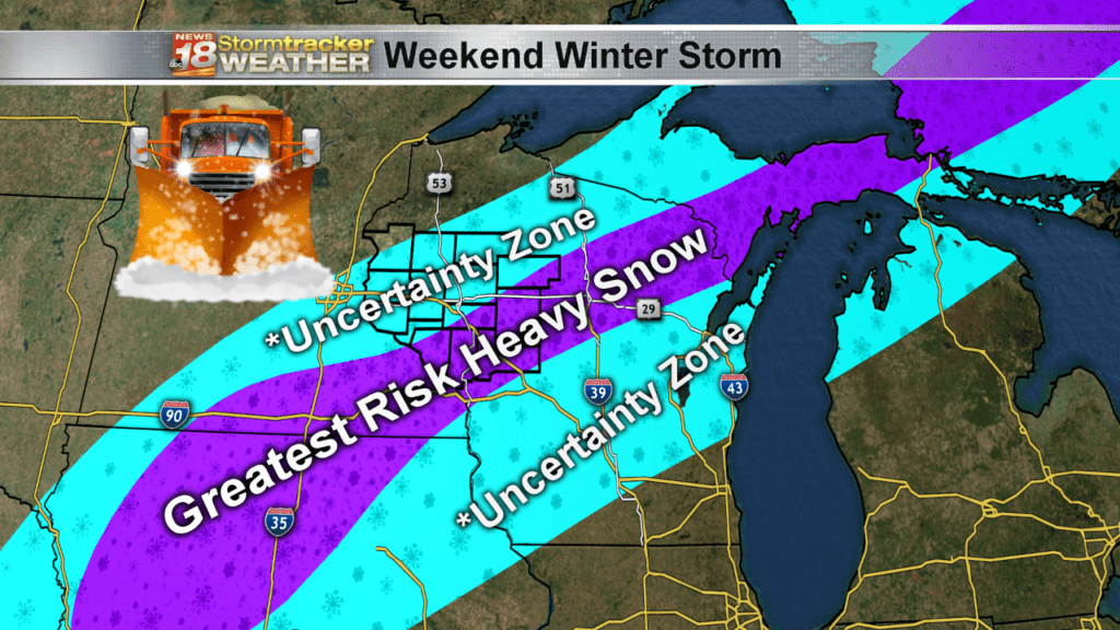 Weather Outlook: Dangerous travel conditions possible from this weekend's winter storm