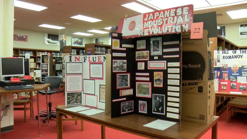Eau Claire students show off knowledge on National History Day