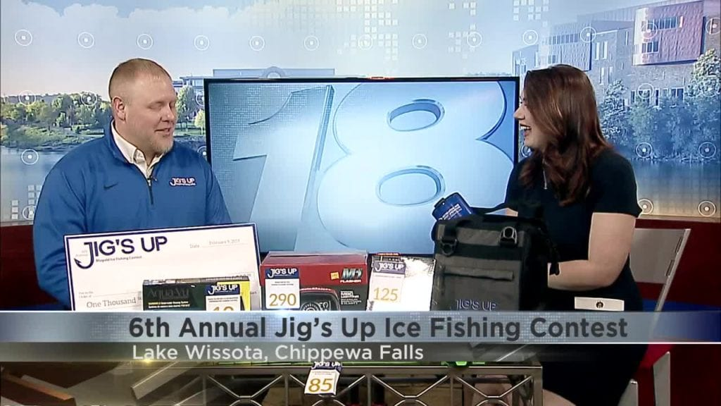 02/04: 6th Annual Jig's Up Ice Fishing Contest - WQOW