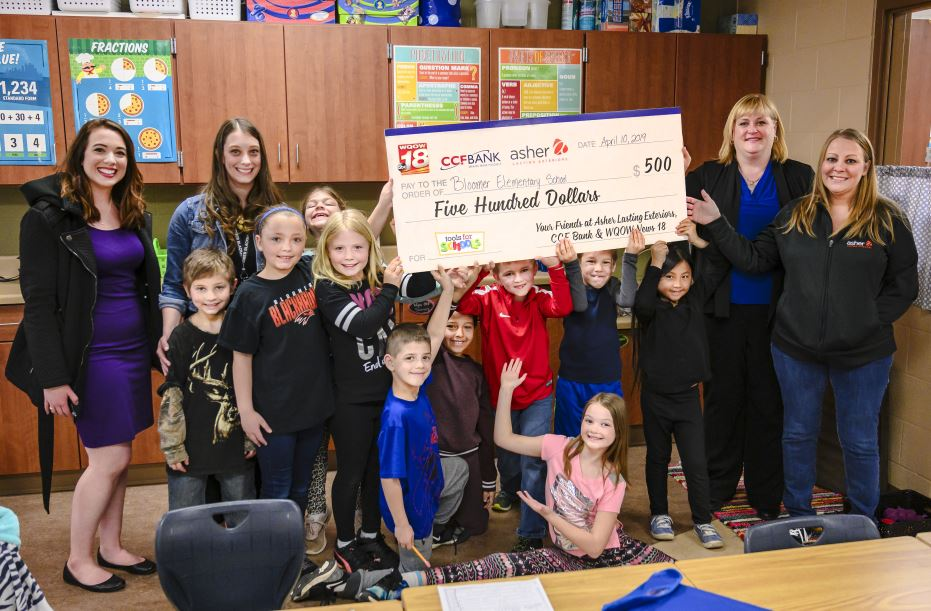 Tools for Schools: $500 grant goes to Bloomer Elem. for new coding technology