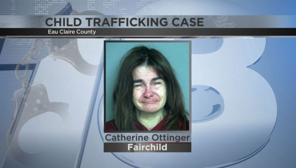 Eau Claire County woman charged with trafficking a child
