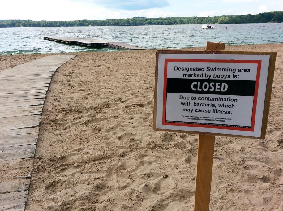 All Eau Claire County beaches closing ahead of Memorial Day weekend