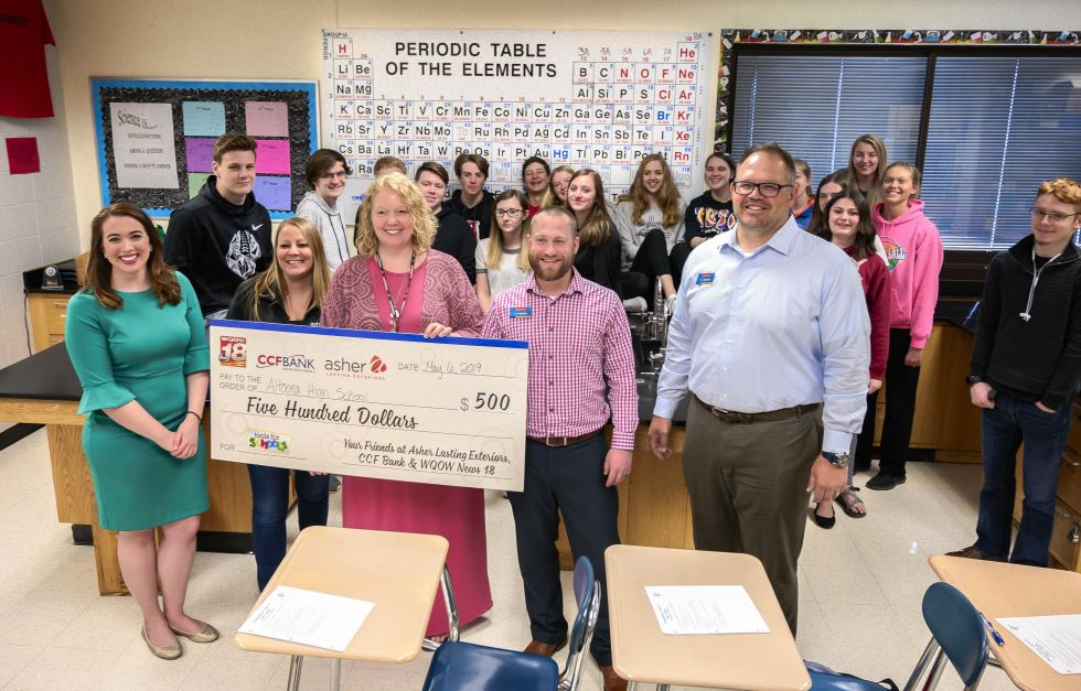 Altoona High School looks to upgrade science classroom with 'Tools for Schools' grant