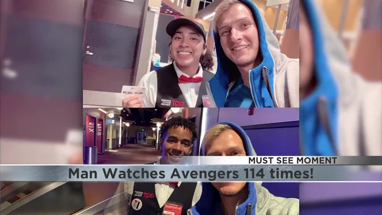 Must See! – Florida Man sees Avengers: Endgame over 110 times!