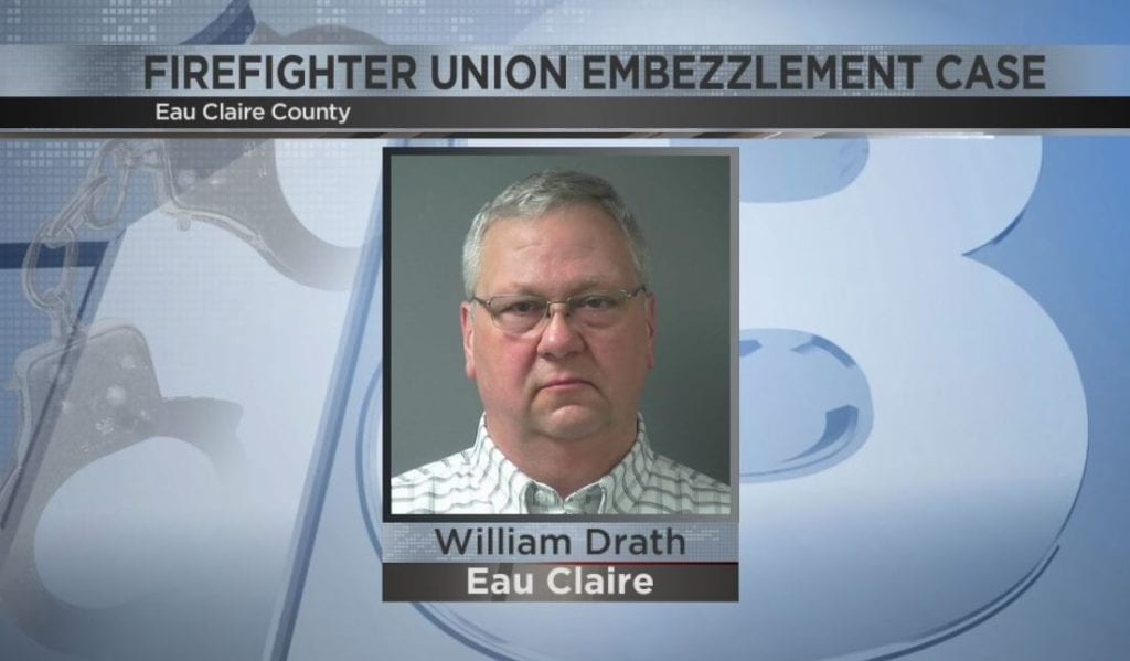Former Eau Claire firefighter charged with stealing $18K from union reaches plea deal