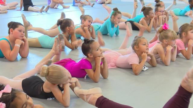Young Chippewa Valley dancers audition for Moscow Ballet
