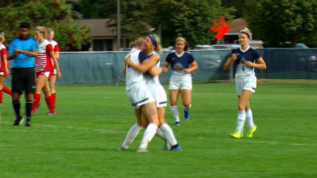 UW-Eau Claire soccer takes 3-1 win over Saint Benedict
