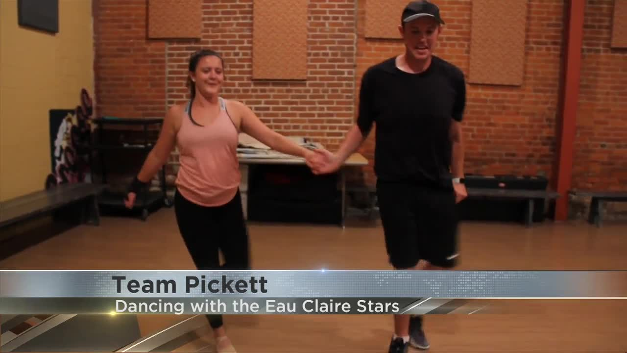 Dancing with the Eau Claire Stars: Team Pickett