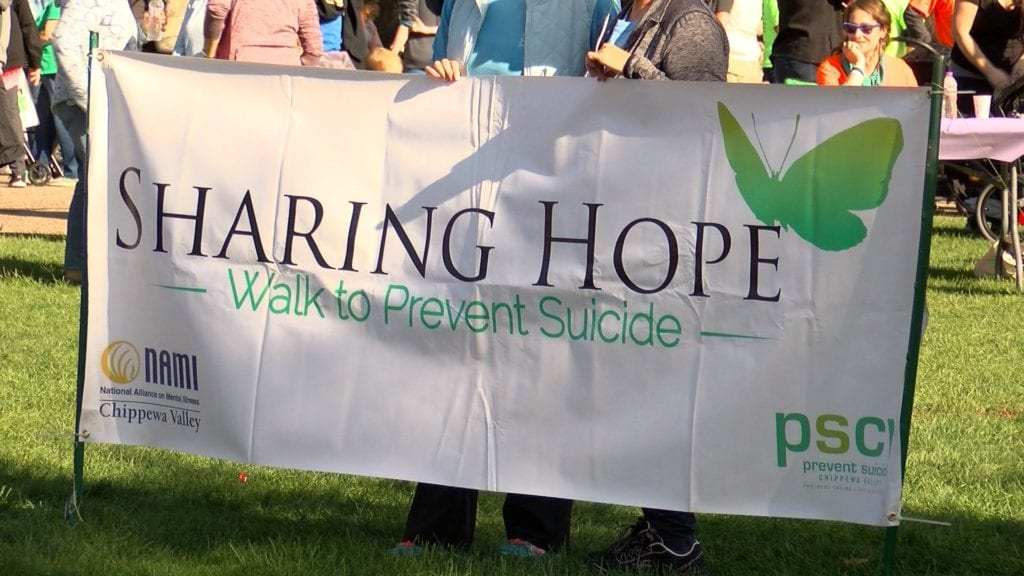 Sharing Hope walk raises awareness for suicide prevention