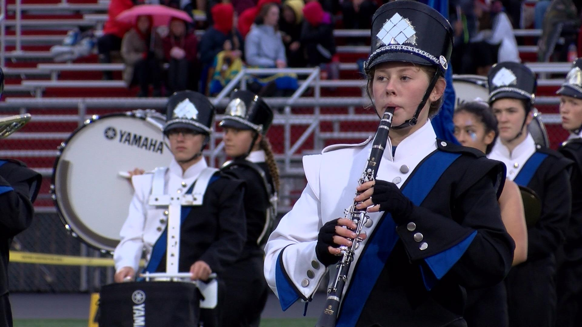 """High School Marching Bands Compete In 20th Annual """"Music"""