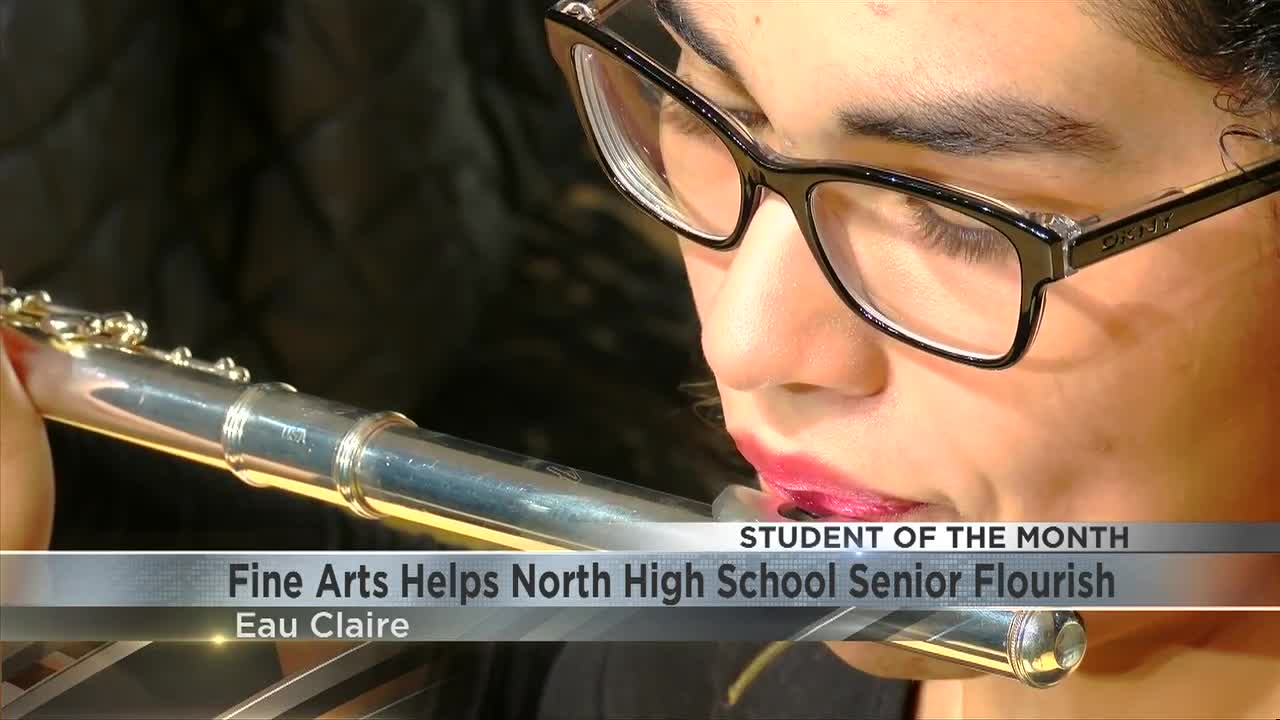 Student of the Month: The Fine Arts Helps North High School Senior Flourish
