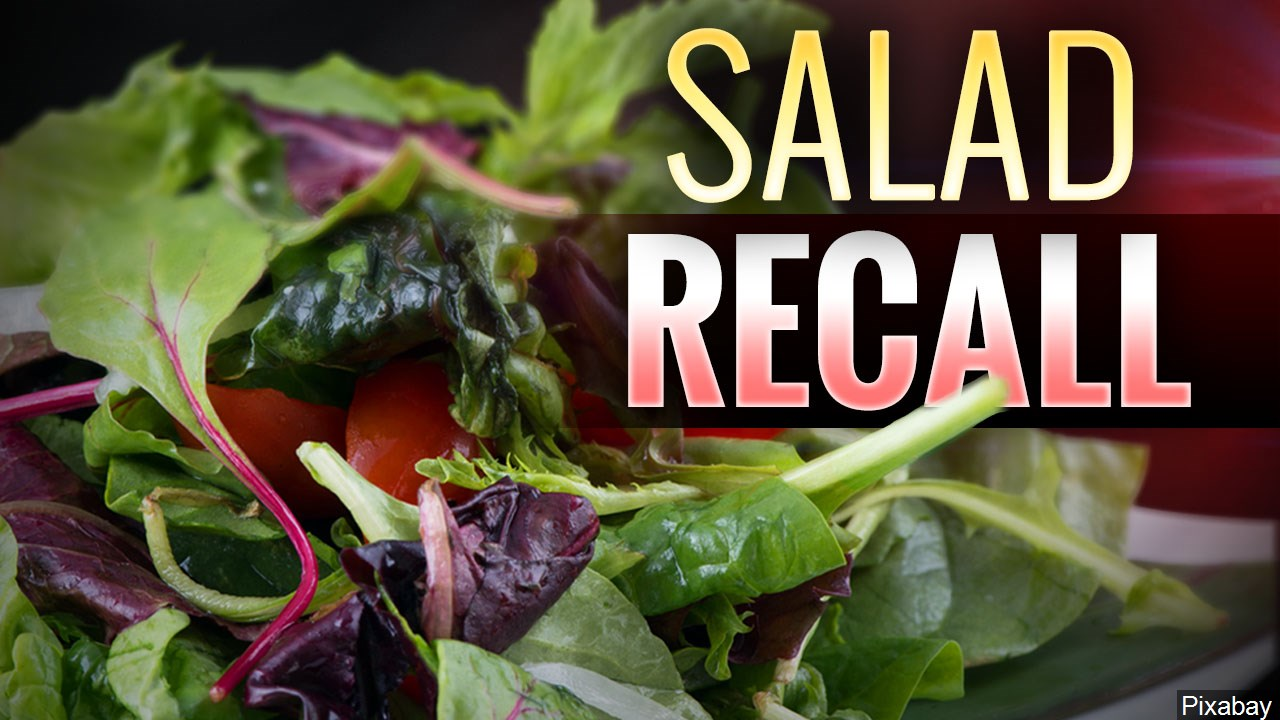 Wisconsin part of nationwide recall of salad products over E. coli contamination