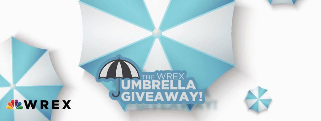CONCLUDED: WREX Umbrella Giveaway