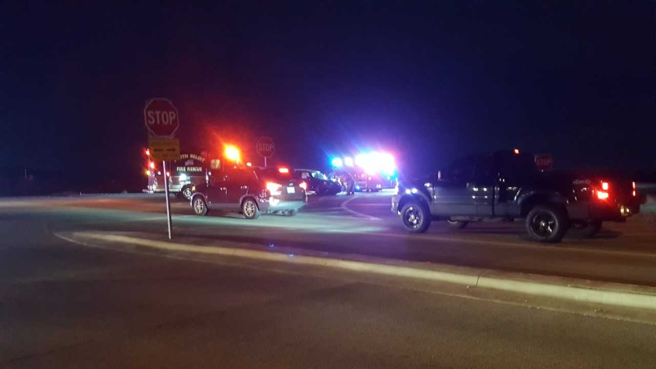 Two people hurt in crash on Route 2 and Roscoe Road - WREX