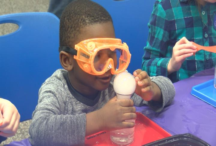 Discovery Center Museum helps visitors get 'Crazy About Chemistry'