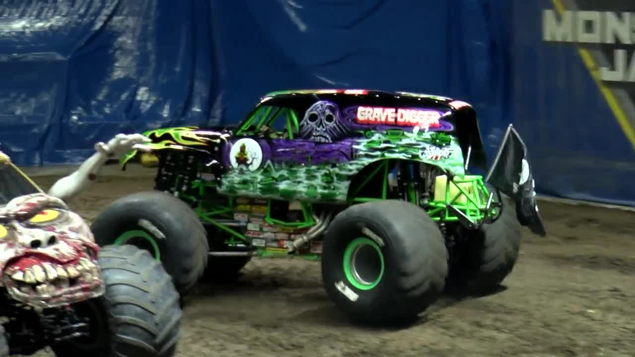 Monster Jam comes to the BMO Harris Bank Center this weekend