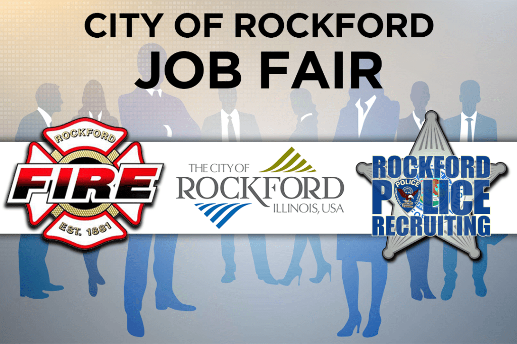 Rockford announces job fairs for fire, police and city departments