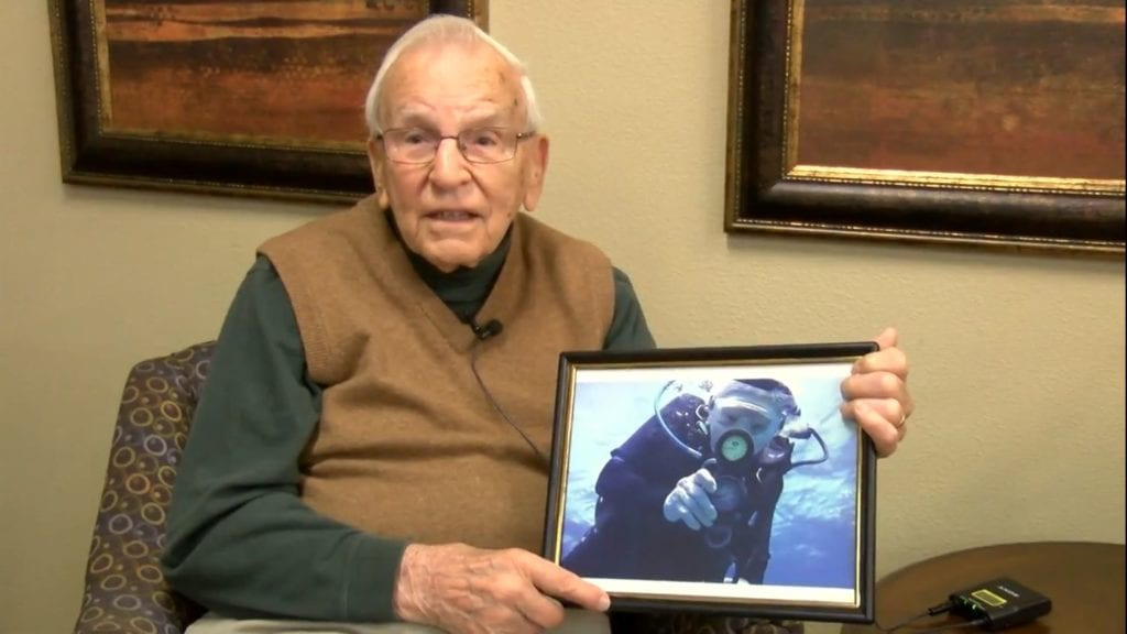 Rockford man vying to become world's oldest scuba diver
