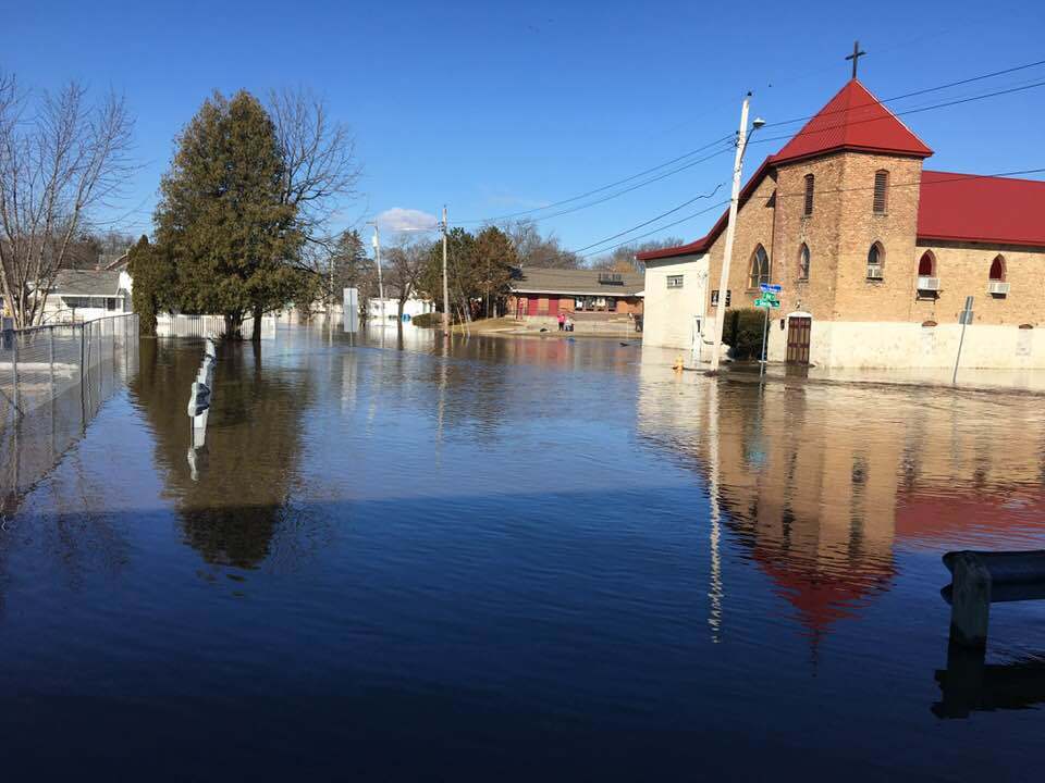 Parts of Freeport underwater Sunday morning as Pec continues