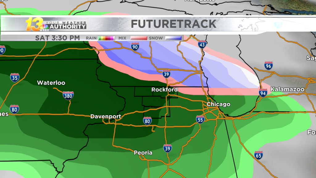 Wintry weather may return on Saturday