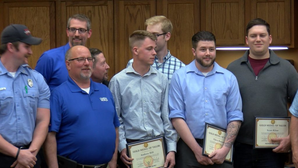 Rockford Park District Honors Men For Saving Friend's Life