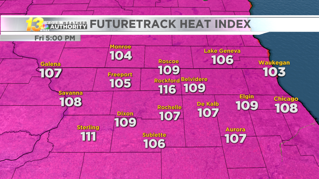 Excessive heat warnings issued for Stateline
