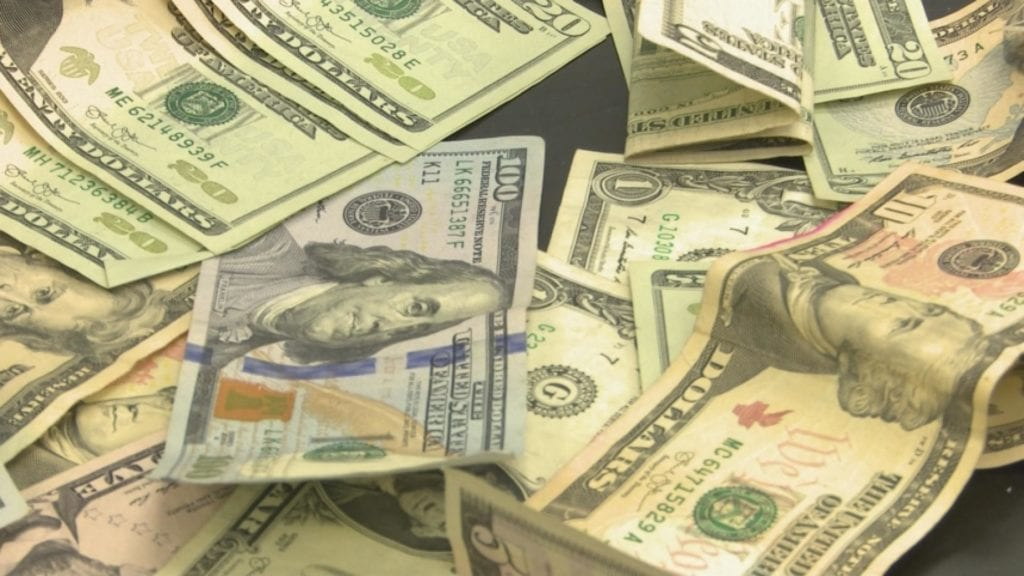 Bundles Of Cash Discovered At Grocery Store - WREX