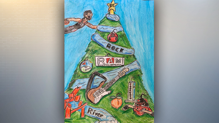7th grader from St. Rita's wins mayor's holiday card contest
