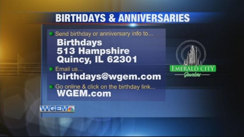 Birthdays & Anniversaries: December 11, 2018