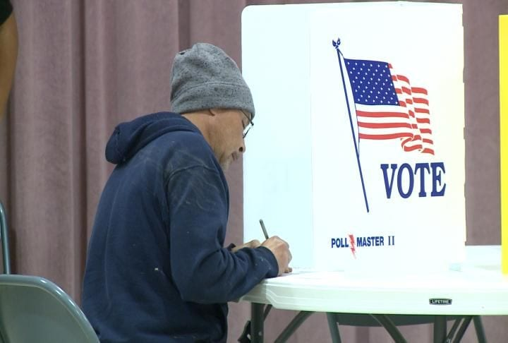 Early voting in Adams County