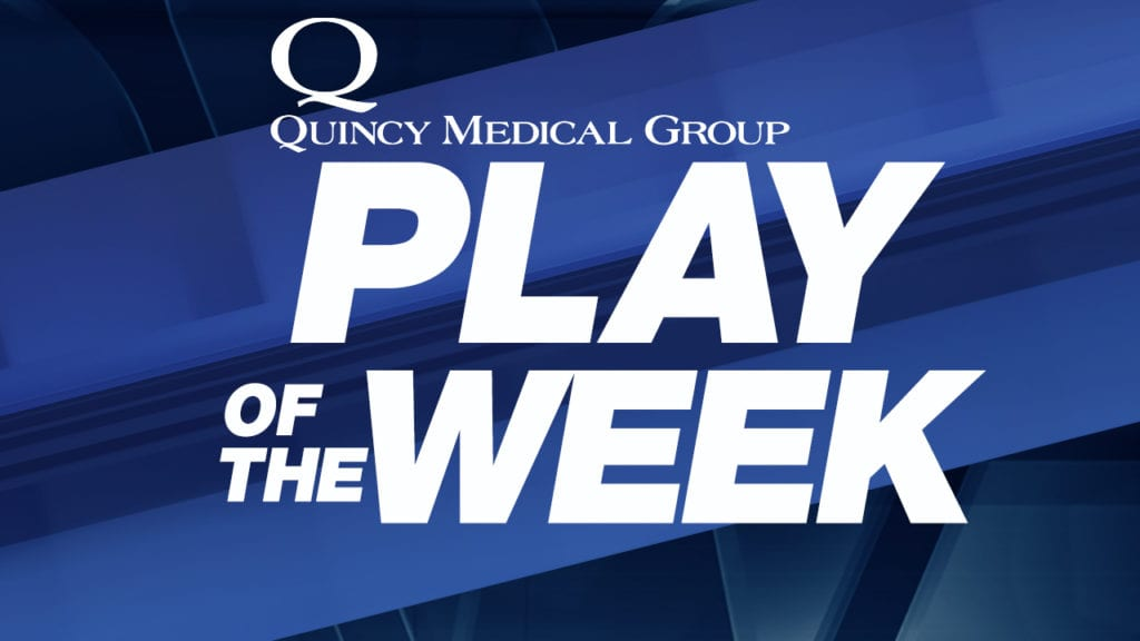 Quincy Medical Group Play Of The Week Nominee's For February 11, 2019