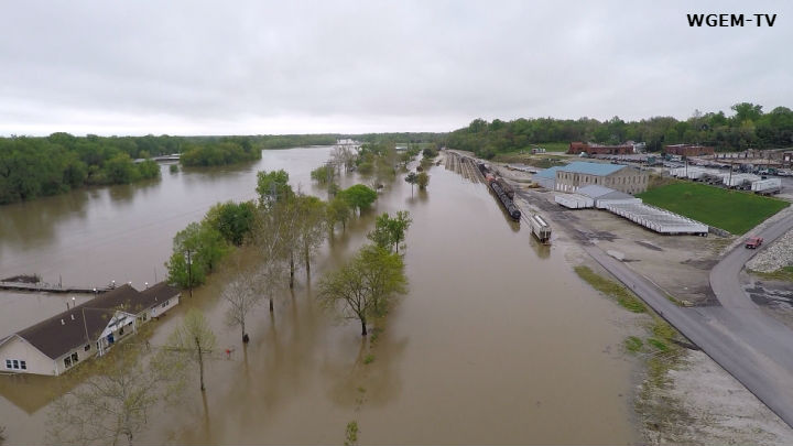 Image result for Quincy Il River flooding 2019