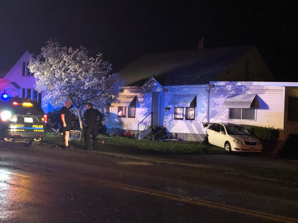 Woman Crashes Car Into Home, Ticketed With DUI
