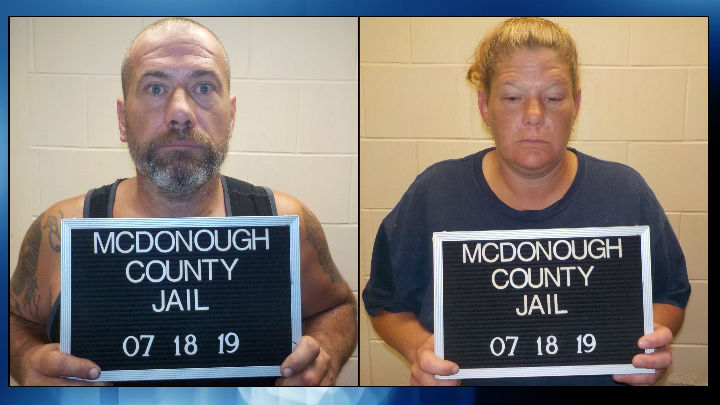 2 arrested for burglary in McDonough County, 3rd suspect flees