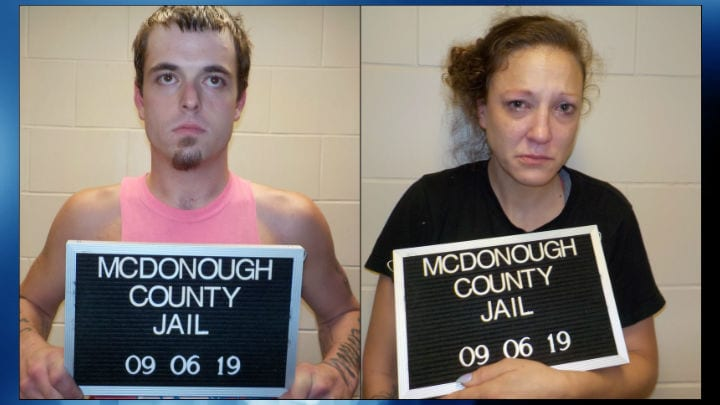 Traffic stop results in two meth arrests in Macomb - WGEM
