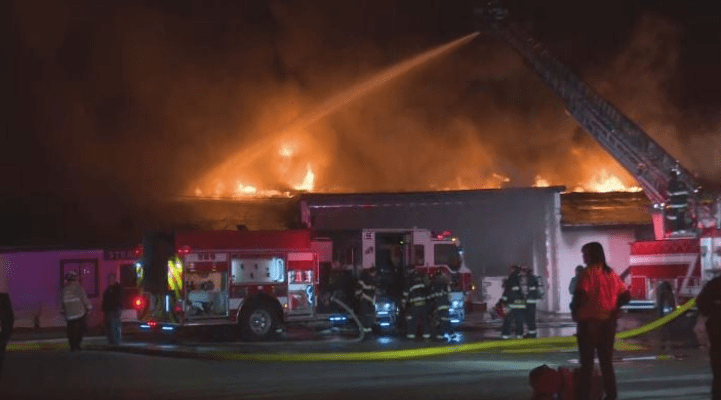 raber packing co destroyed in fire week