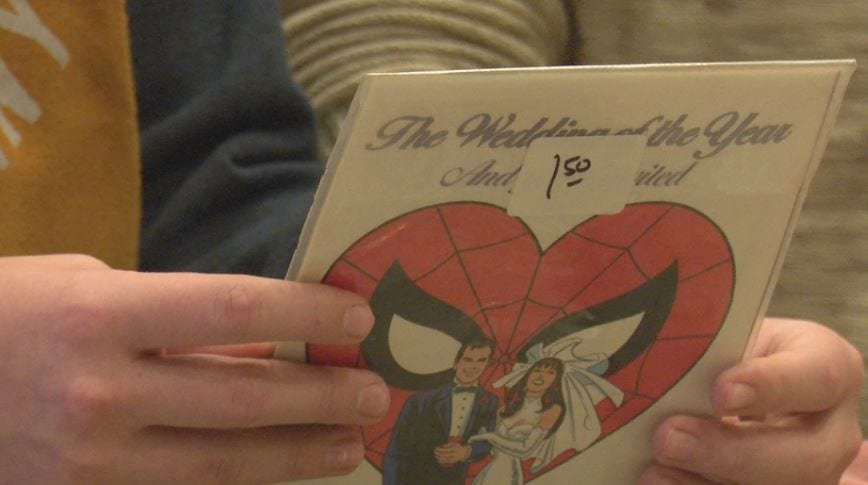 Comic book convention brings superheroes to town