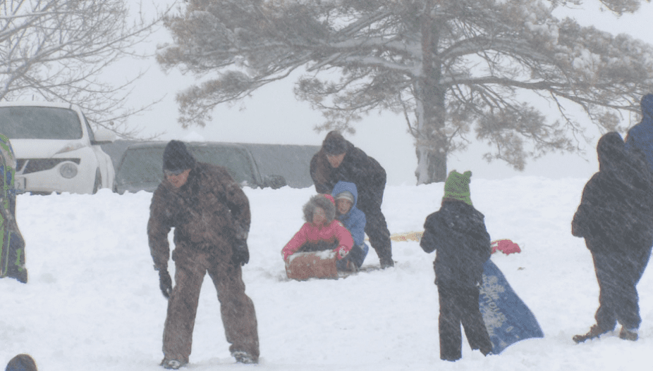 Snow big deal, it's fun for some and business for others