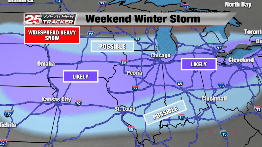 Get ready for another weekend snow storm